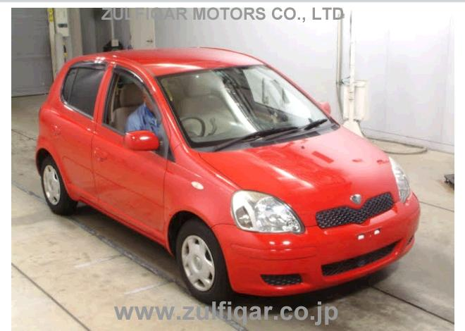 Used Toyota Vitz 2004 Mar Red For Sale | Vehicle No YS-44952