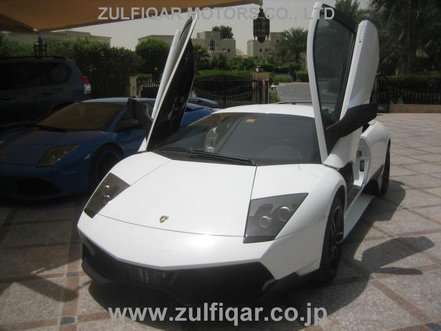 Used Lamborghini Murcielago 2009 White For Sale Vehicle No