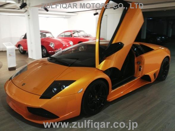 Used Lamborghini Murcielago 2009 Orange For Sale Vehicle No Db 55233