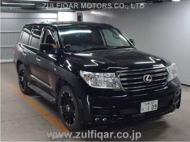 Used Toyota Land Cruiser 2011 Jul Black For Sale | Vehicle