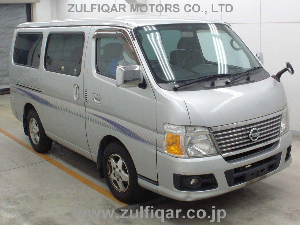 Used Nissan Caravan 2008 May Silver For Sale Vehicle No Za 61793