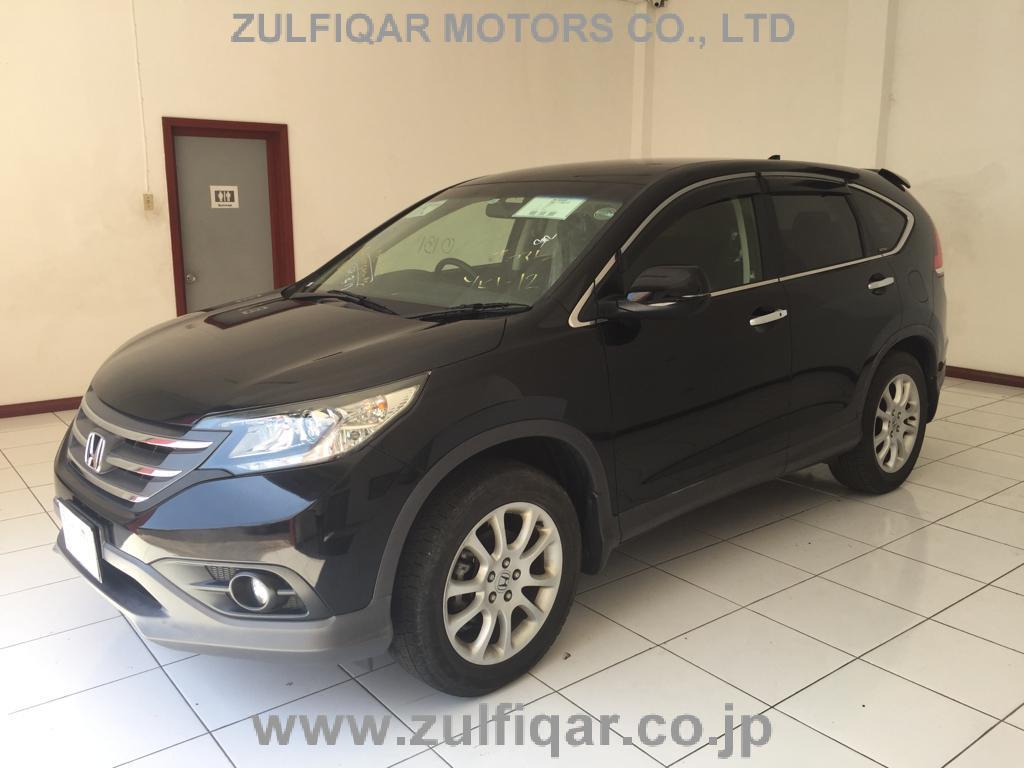 Used Honda Cr V 2012 Nov Black For Sale Vehicle No Jm 65430