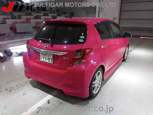 Used Toyota Vitz 2015 Apr Rose For Sale