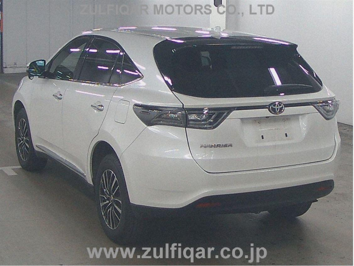 TOYOTA HARRIER 2015 Image 2