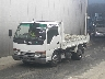 ISUZU-ELF DUMP TRUCK WHITE-Color Jun-2000  4300CC