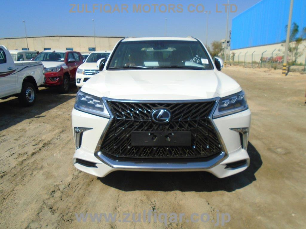 Used Lexus Lx 570 2019 Jan White For Sale | Vehicle No ED-500457