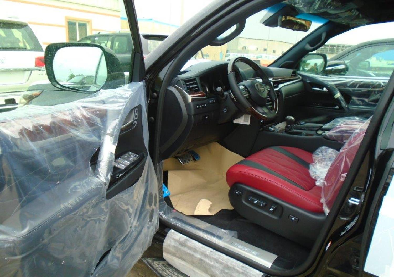 Used Lexus Lx 570 2019 Jan Black For Sale Vehicle No Ed 500458