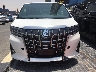 TOYOTA-ALPHARD WHITE-Color Jan-2019  3500CC