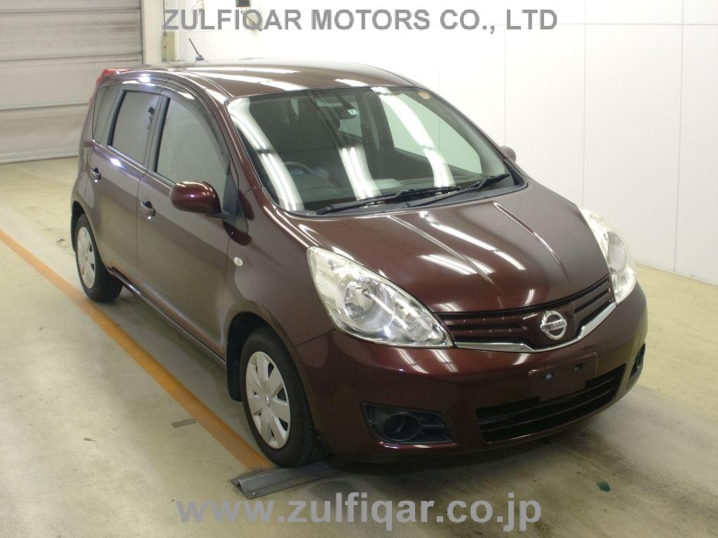 NISSAN NOTE 2012 Image 1