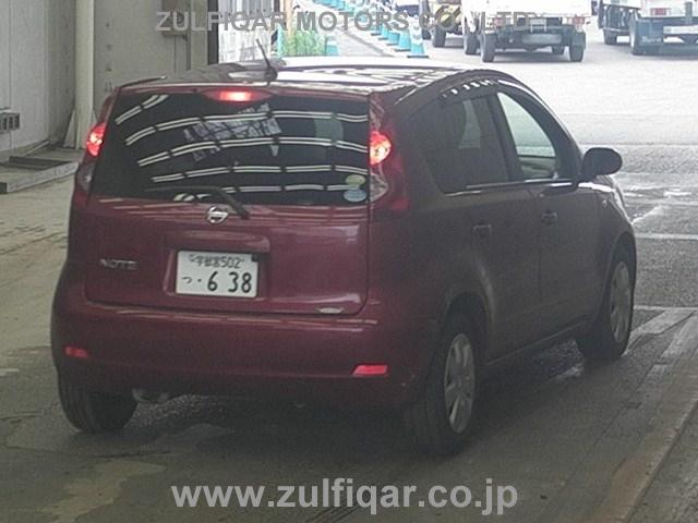 NISSAN NOTE 2012 Image 2