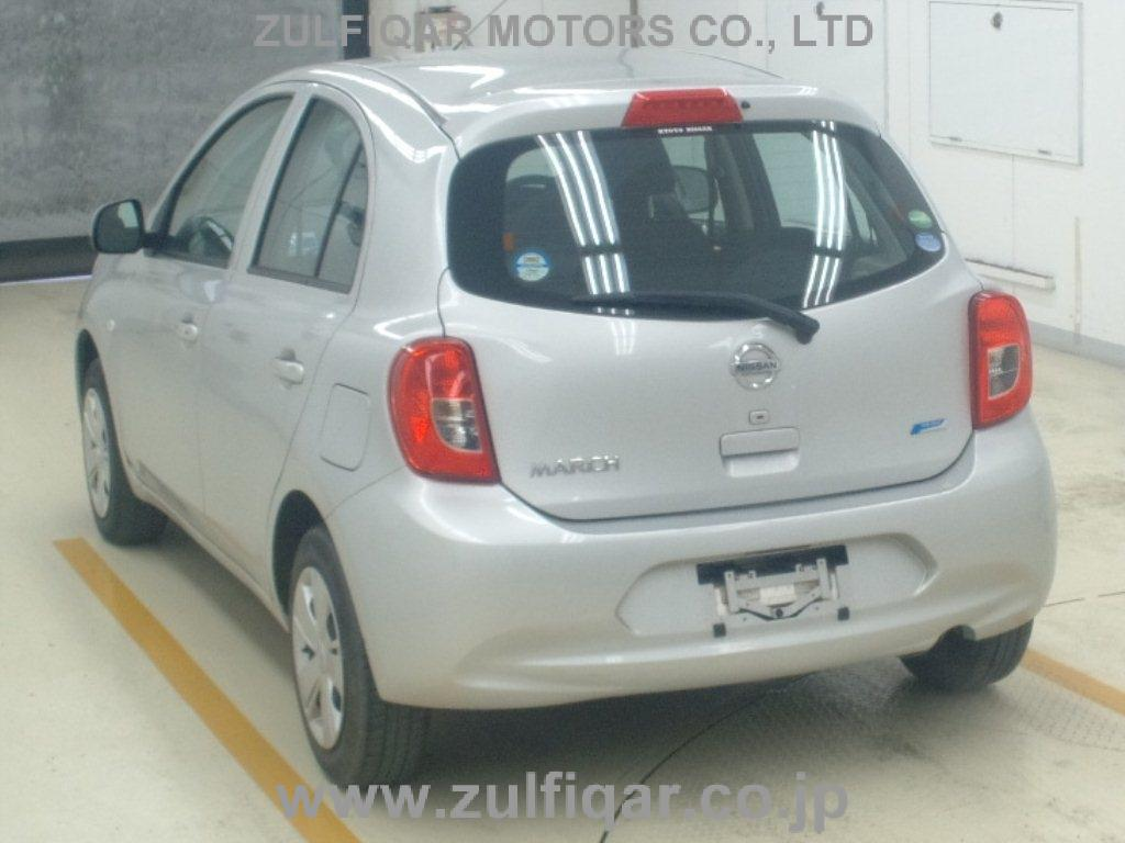 NISSAN MARCH 2016 Image 2