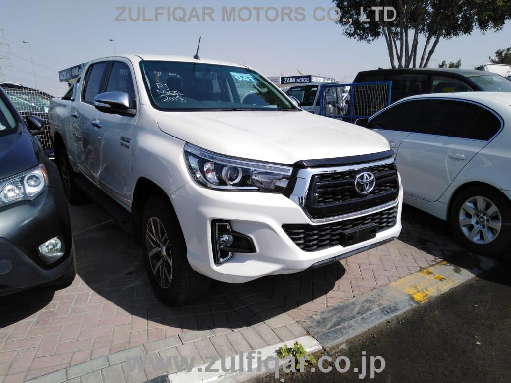 TOYOTA HILUX PICK UP 2018 Image 4