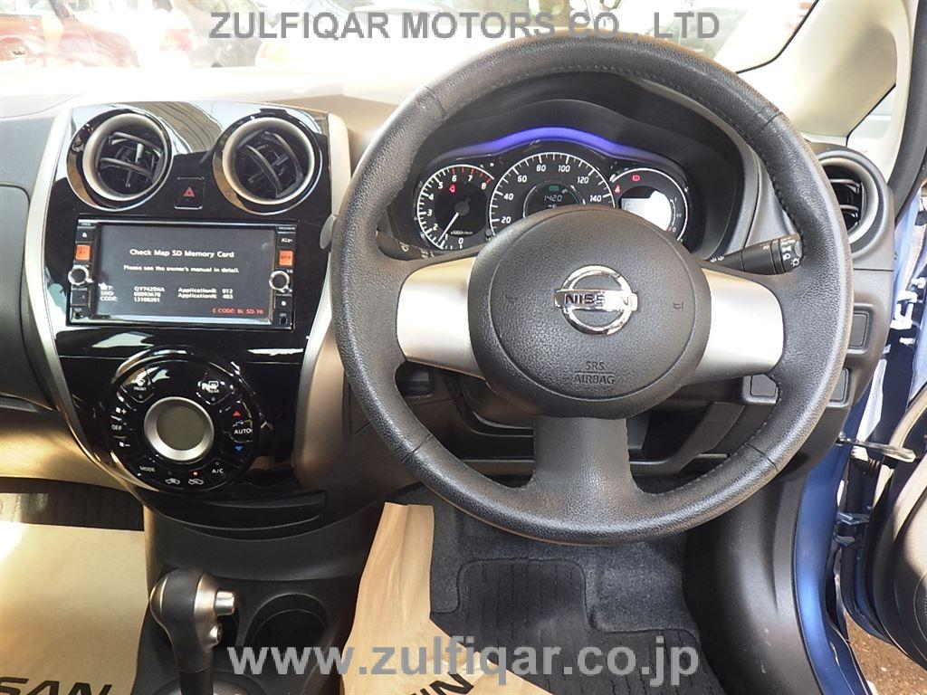 NISSAN NOTE 2014 Image 5