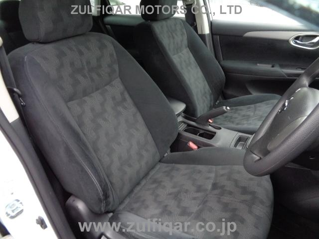 NISSAN SYLPHY 2014 Image 10
