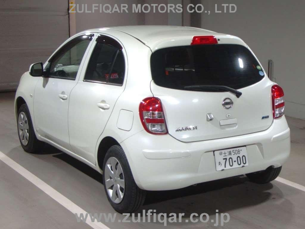 NISSAN MARCH 2012 Image 2