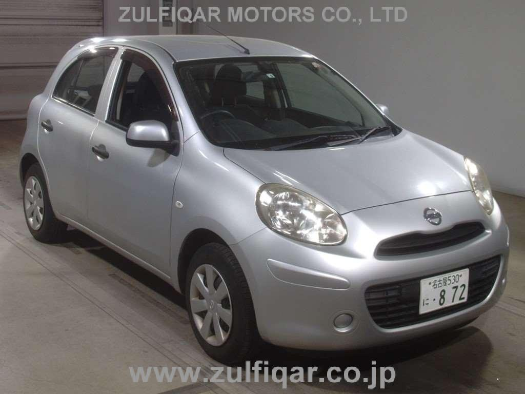 NISSAN MARCH 2012 Image 1