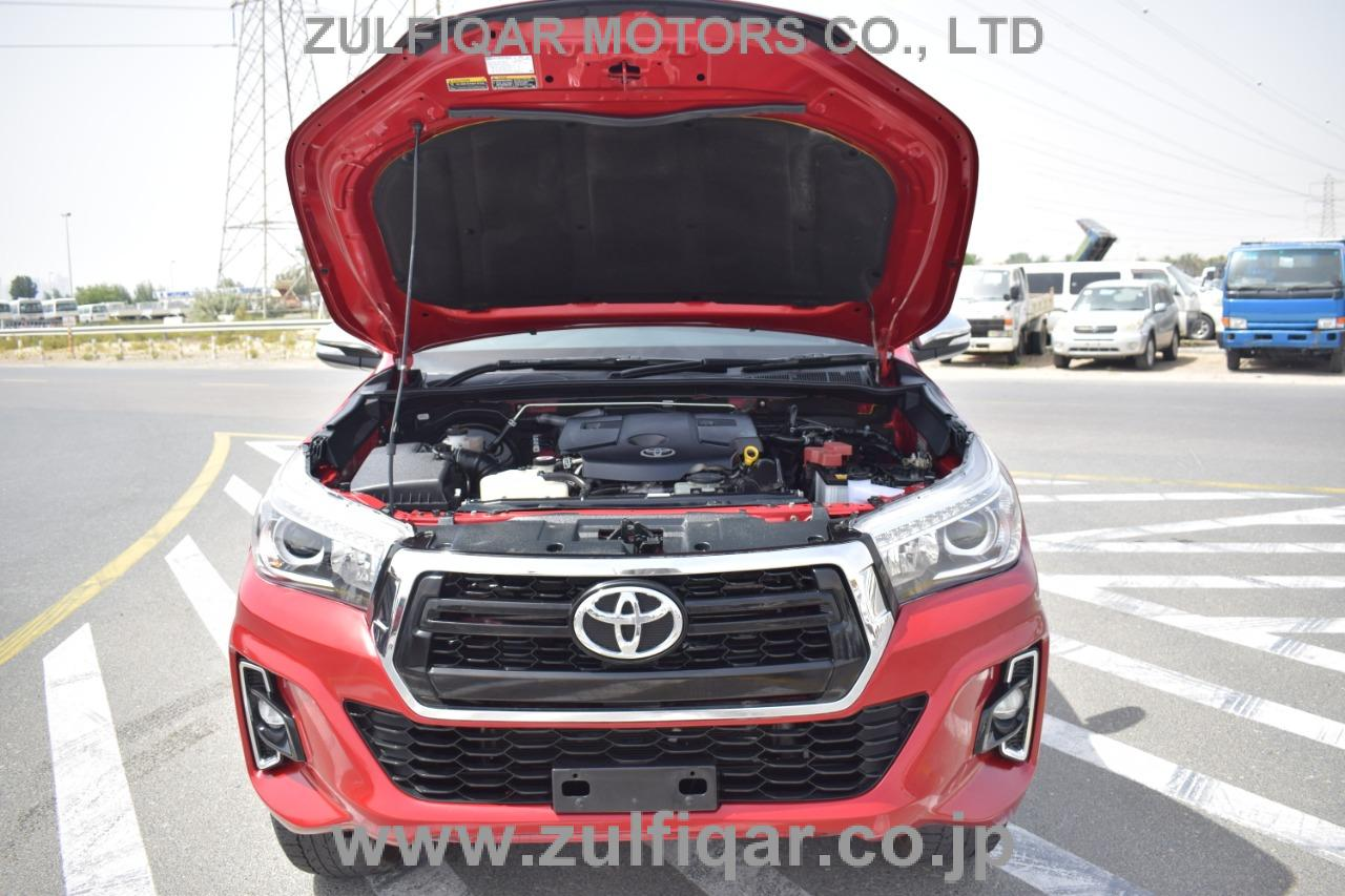 TOYOTA HILUX PICK UP 2017 Image 19