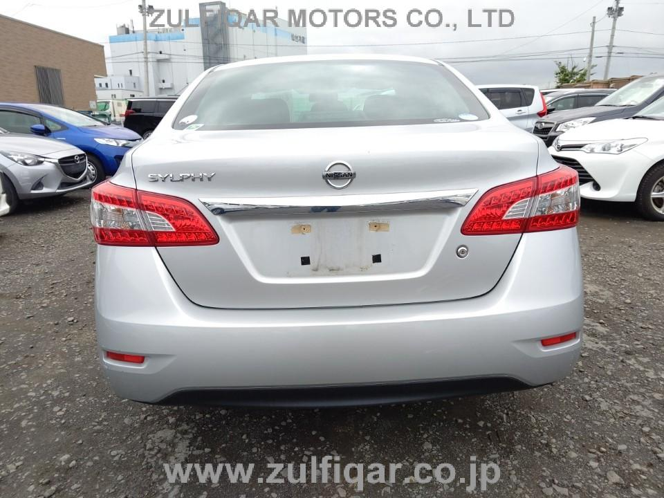 NISSAN SYLPHY 2015 Image 4