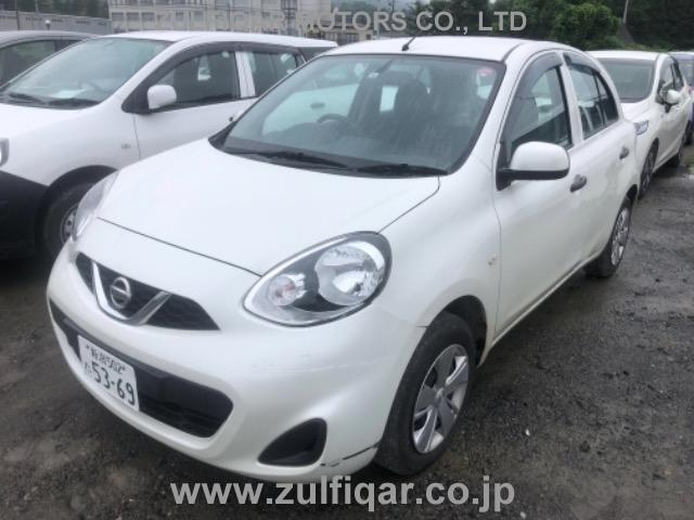 NISSAN MARCH 2014 Image 1