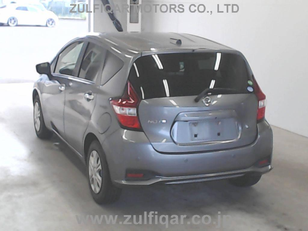 NISSAN NOTE 2017 Image 5
