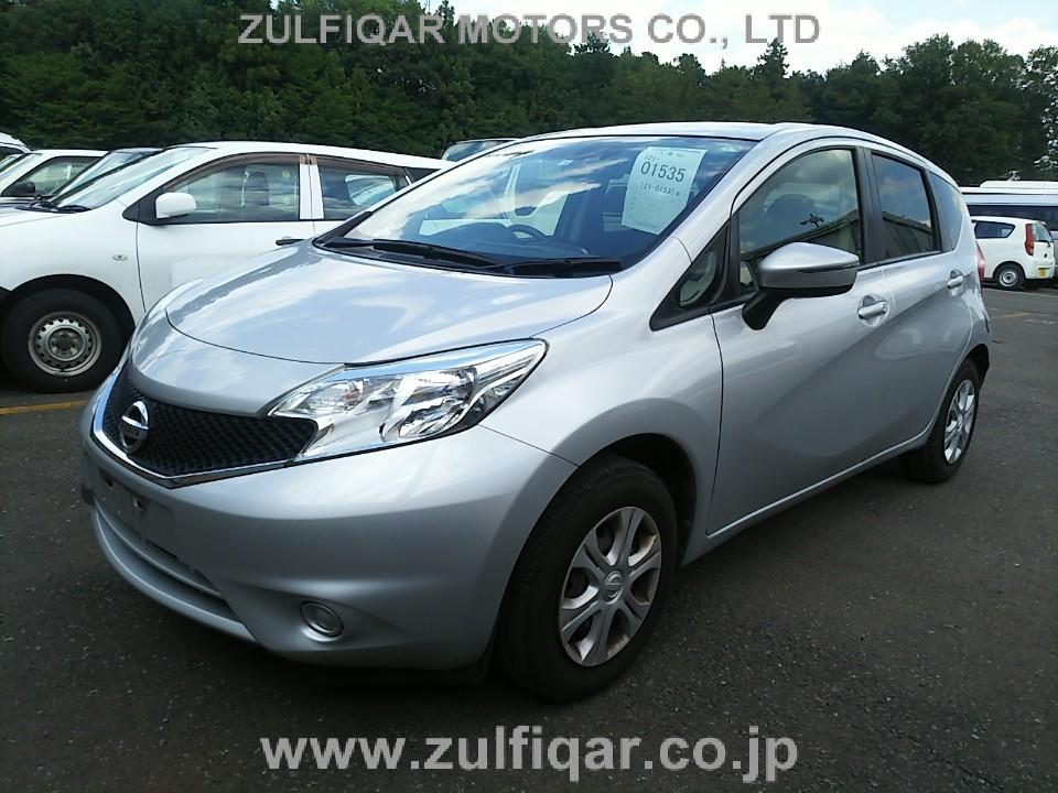 NISSAN NOTE 2016 Image 1