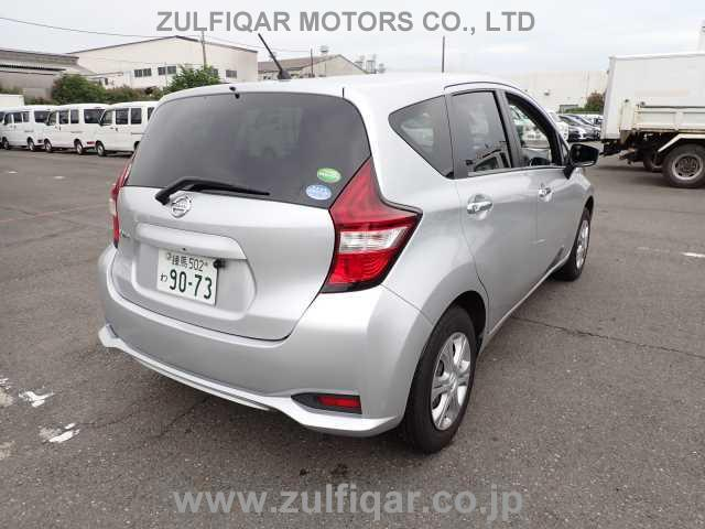 NISSAN NOTE 2018 Image 2