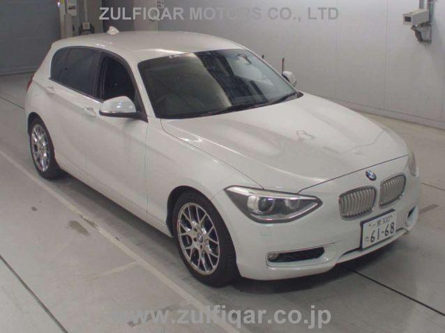 BMW 1 SERIES 2012 Image 1