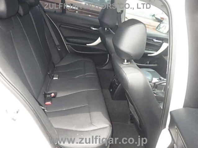 BMW 1 SERIES 2012 Image 9